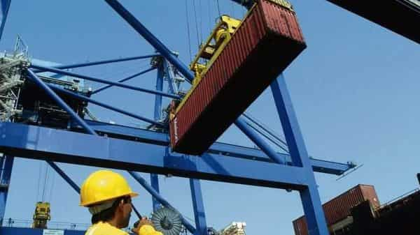 Despite the fall in overall cargo volume, APSEZ's flagship Mundra port in Gujarat was the largest container-handling port in India.  (Photo: Mint)