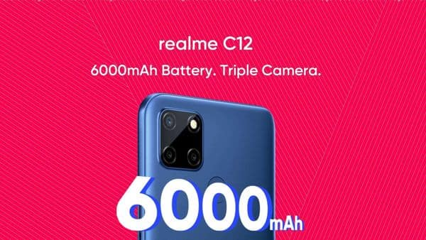 The company revealed that the C12 will feature a 13MP primary sensor with AI features