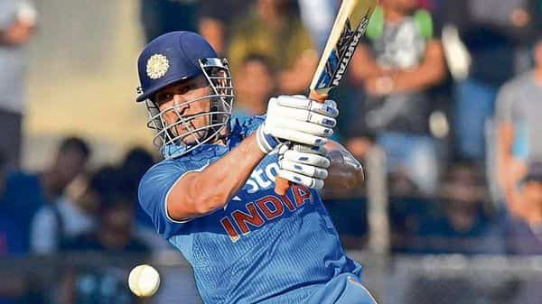 MS Dhoni is India's only cricket captain to win all three ICC trophies. (HT)