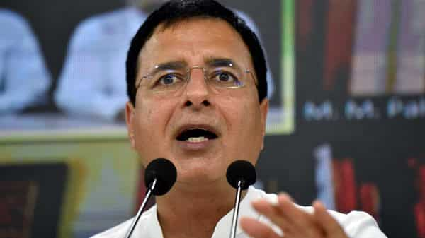 Congress leader Randeep Singh Surjewala  (ANI)