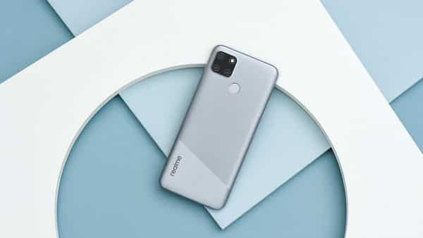 The new Realme C12 is available in Power Blue and Power Silver colours