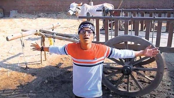 25-year-old Rapboss from Maharashtra sings of farmers' distress