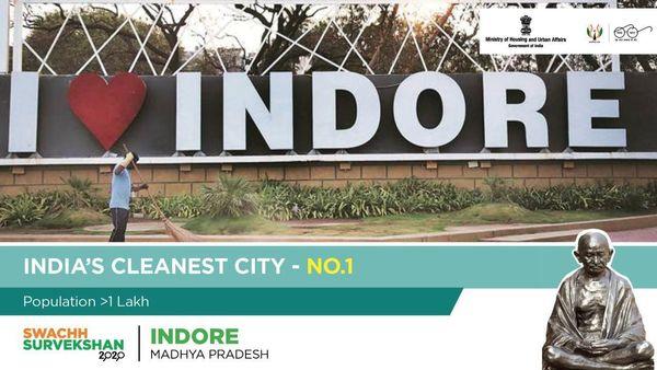 Indore is India's cleanest city. (@HardeepSPuri)