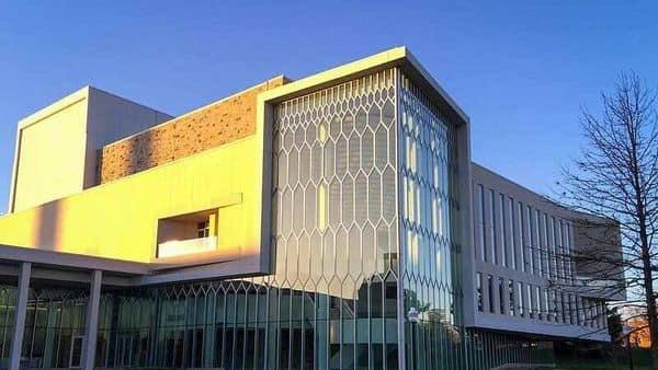 Moss Arts Center, Virginia Tech. (Photo: Wikimedia Commons)
