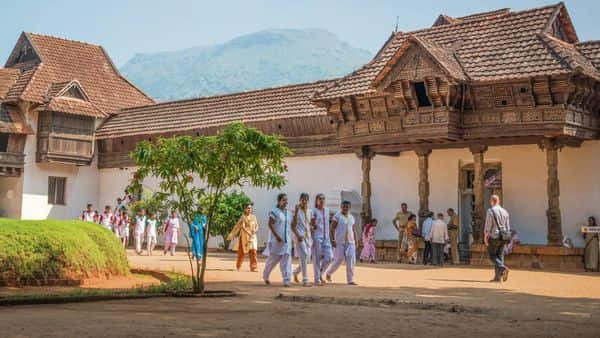 The 14-part complex of the Padmanabhapuram palace stands testament to king Martanda Varma's self-conscious glory and vision.