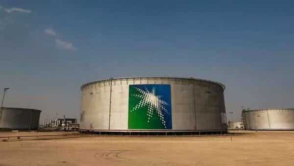 FILE PHOTO: A view shows branded oil tanks at Saudi Aramco oil facility in Abqaiq, Saudi Arabia October 12, 2019.  (REUTERS)