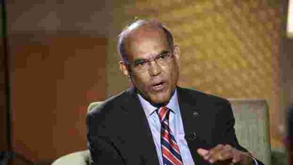 Former RBI governor D Subbarao