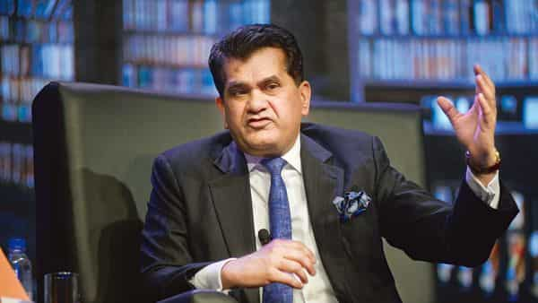 The need is to transform India into a data-intelligent country, said Amitabh Kant, CEO of NITI Aayog. (Mint)