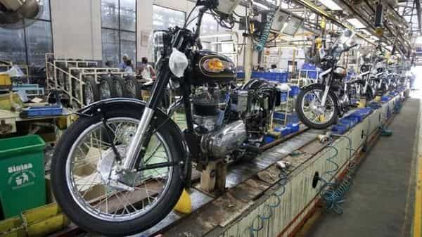 Eicher Motors had reported a consolidated net loss of  ₹55 crore for the first quarter ended June 30
