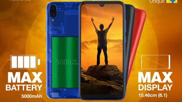The new Gionee Max will be selling at a price of  ₹5,999