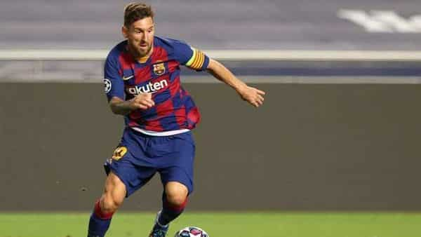 FILE PHOTO: Barcelona's Lionel Messi in action. (REUTERS)