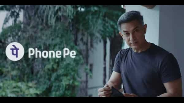 PhonePe's campaign 'Unstoppable India' features actor Aamir Khan.