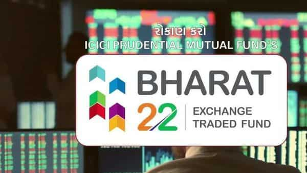 An investment of  ₹10,000 an year ago in Bharat 22 ETF would have deteriorated to  ₹8,306 as on August 25.