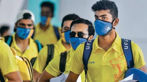 Chennai Super Kings team members  (PTI)