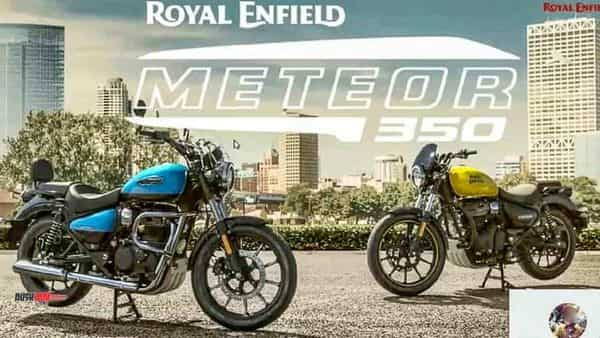 Royal Enfield Meteor 350 images leaked: Details that we know so far
