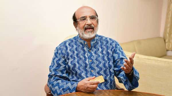 Kerala finance minister Thomas Isaac is leading dissenting states in the GST Council. (Ramesh Pathania/Mint)