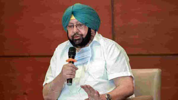 Punjab Chief Minister Captain Amarinder Singh speaks over COVID-19 issue, in Chandigarh. (ANI)