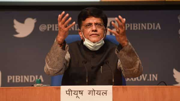 Union Minister of Commerce and Industry Piyush Goyal (PTI)