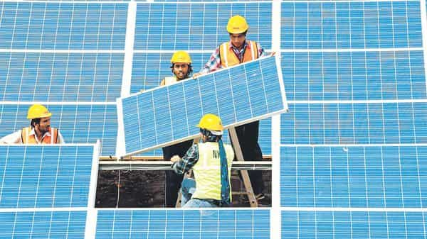 Andhra Pradesh has 3,230 MW of solar power projects awarded through competitive bidding. (AFP)
