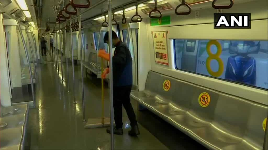Delhi metro is gearing up to re-open with caution putting into place a series of measures