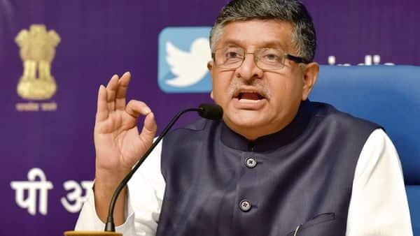 Union IT minister Ravi Shankar Prasad. (HT)
