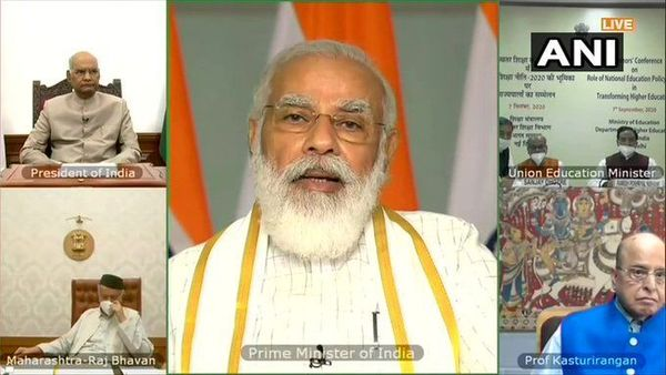 PM Modi at Governor's Conference. (ANI)