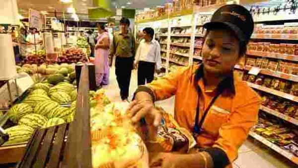 Spencer's would provide its entire basket of retail products through its online platform, starting with grocery and food and later extending it to non-food items. Photo: Abhijit Bhatlekar/Mint