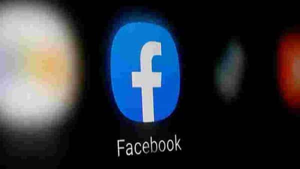 A Facebook logo is displayed on a smartphone in this illustration taken January 6, 2020.  (REUTERS)