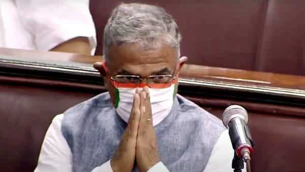 Harivansh re-elected Rajya Sabha dy chairman; PM calls him 'outstanding umpire'