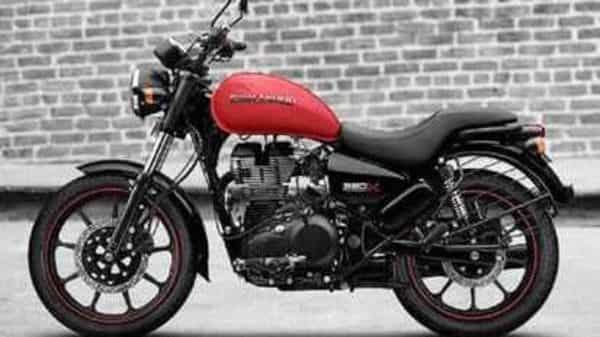 Royal Enfield Meteor 350. Photo source: Twitter
