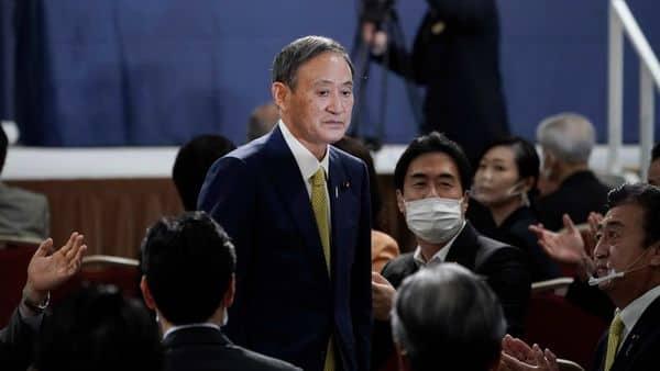 Yoshihide Suga. (AP)