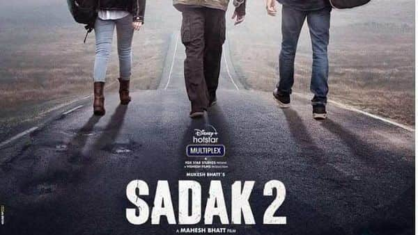 Actor Alia Bhatt's Sadak 2 trailer became the second most disliked video of all time on YouTube. Photo source: Twitter