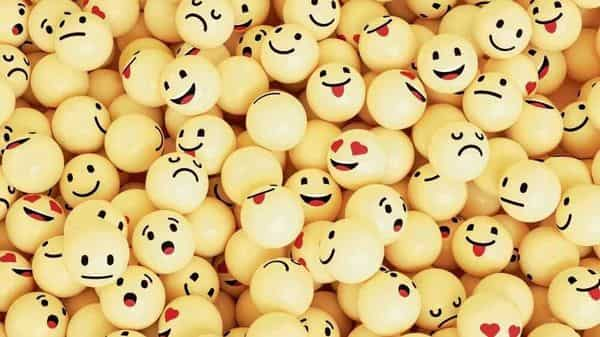 Rendering of emoji faces (istockphoto)