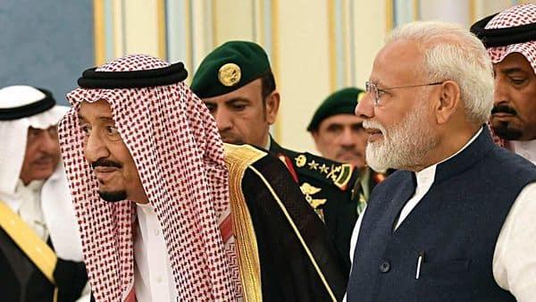 A file photo of PM Narendra Modi with Saudi Arabia's King Salman bin Abdulaziz Al Saud   (ANI)