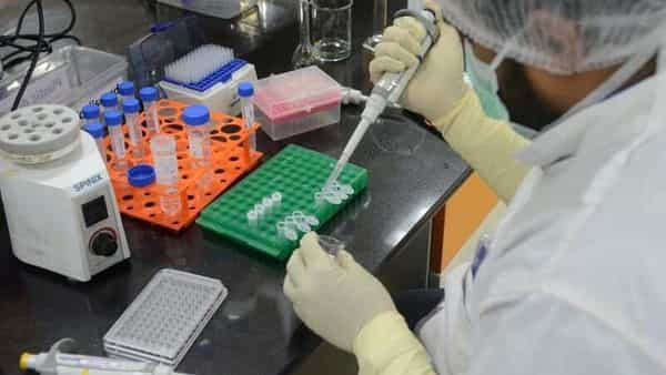A research scientist works inside a laboratory of  Serum Institute, the world's largest maker of vaccines, which is working on vaccines against the coronavirus disease (COVID-19) in Pune, (REUTERS)