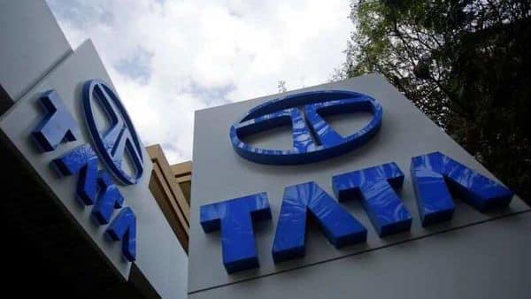 Tata Motors logos are seen at their flagship showroom in Mumbai February 14, 2013. REUTERS (REUTERS)