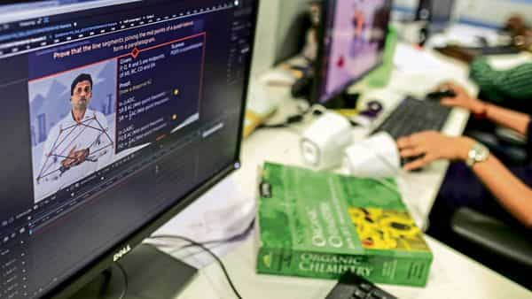 E-learning platforms have seen usage zoom in India after the lockdown. (Photo: Bloomberg)