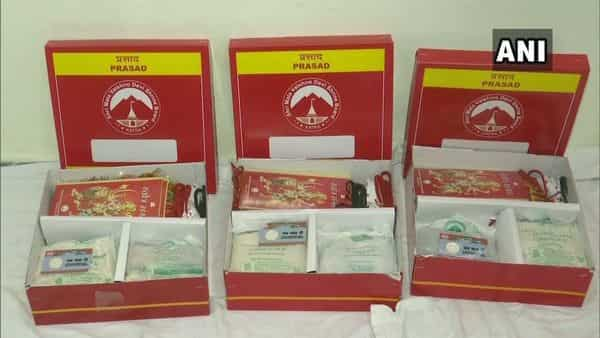 To get the 'Pooja Prasad' delivered home, a devotee can make the booking through the SMVDSB website. (ANI)