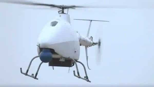 The AR500C unmanned helicopter is equipped to carry out fire strikes, according to reports. (Sourced)