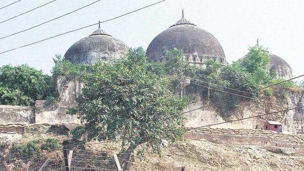 A file photograph of the Babri Masjid (Photo: AP)