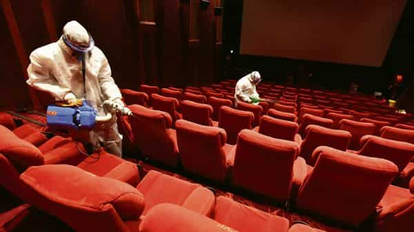 Movie theatres can reopen with 50% capacity in areas outside containment zones. HT