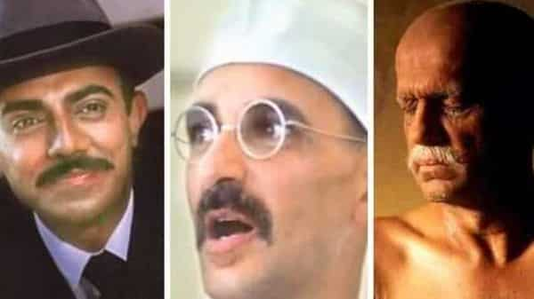 Gandhi has been played by a variety of actors over the years