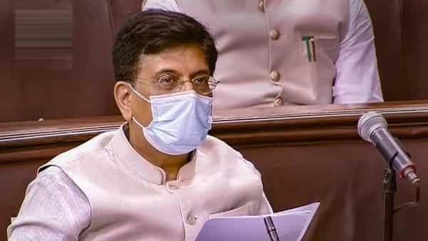 New Delhi: Union Minister Piyush Goyal speaks in the Lok Sabha during the ongoing Monsoon Session of Parliament, in New Delhi, Tuesday, Sept. 15, 2020. (PTI)