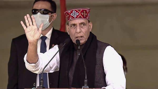 Defence Minister Rajnath Singh (PTI)