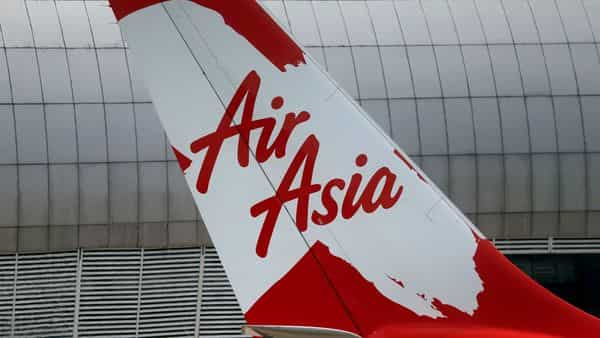 FILE PHOTO: Tail of AirAsia X plane as seen at the Garuda Maintenance Facility AeroAsia in Tangerang, Indonesia, September 20, 2017. Picture taken September 20, 2017. REUTERS/Beawiharta/File Photo (REUTERS)