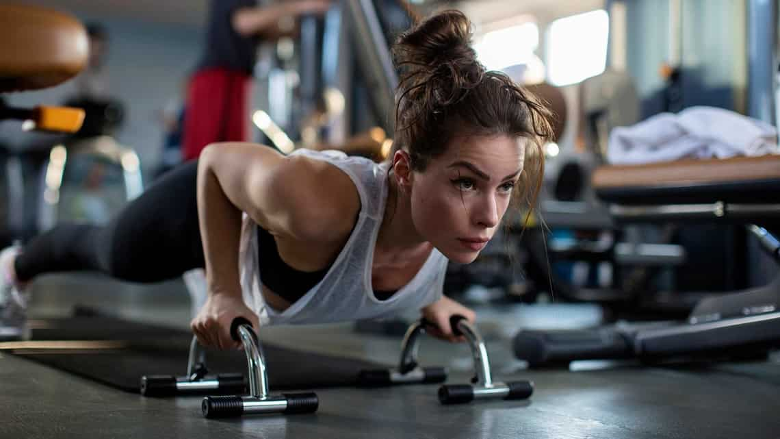 Pushups work differently for every body type and fitness level. (Photo: istockphoto)