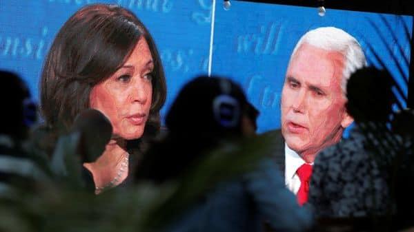 Vice Presidential Debate 2020 Pence Blames China For Covid Harris Blames Trump