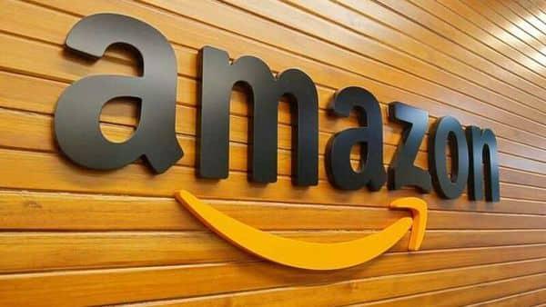 FILE PHOTO: The logo of Amazon (REUTERS)