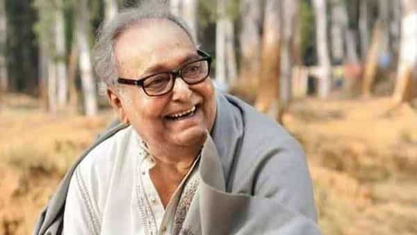 A file photo of veteran actor Soumitra Chatterjee.