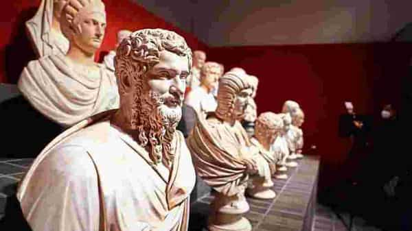 After spending decades in a basement, some of Italy's finest sculptures, dating back to the 15th century, are on show for the public again in Rome in a show that will run till June 2021